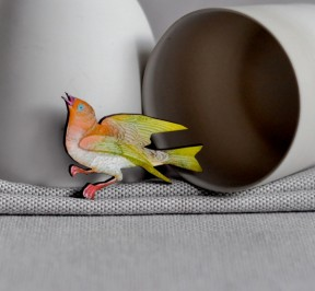 FlockingBird_Brooch_GreenFinch_Front_Small_Mar15