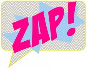 Zap Necklace Brooch Earring