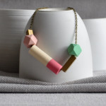 Necklace_BlockAndCylinder_DarkPinkCylinder_AW15